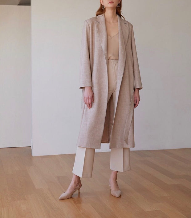 Breeze belted long Jacket