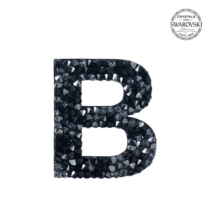 "SWAROVSKI® ADHESIVE STICKER ""B"" - BLACK"