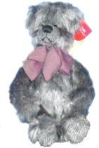 Russ Berrie Bears From The Past Quigley Bear Plush Toy Dark Grey