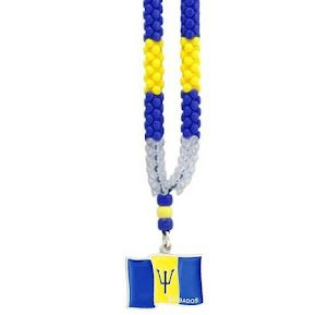 Necklaces -Barbados Flag-