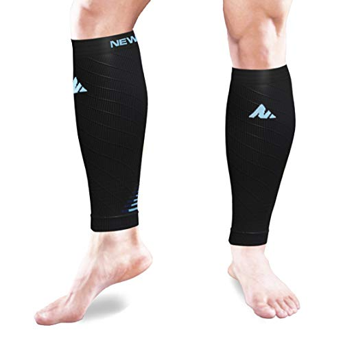 e67fe79ec8 Newmark Compression Calf Sleeves For Men &Amp; Women (Pair), Best Footless  Compression ...