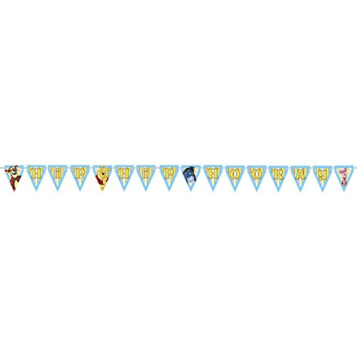 Winnie The Pooh And Pals Hip Hop Hooray Banner (1Ct)