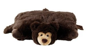 Aroma Home Pillow Friendz Bear Brown