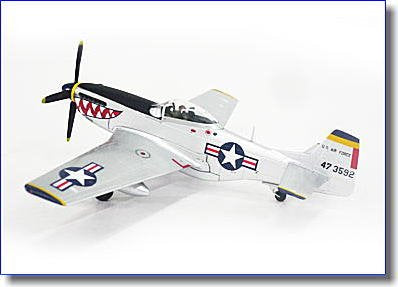 Witty Wings 1/72 P-51D Usaf 18Th Fg 12Th Fs Korean War (Japan Import)