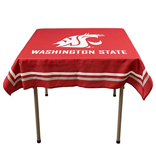 College Flags And Banners Co. Washington State Cougars Logo Tablecloth Or Table Overlay