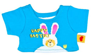 Build A Bear Buddies Smallfrys Chat-Tee Happy Easter T-Shirt For Mini Plush Animals