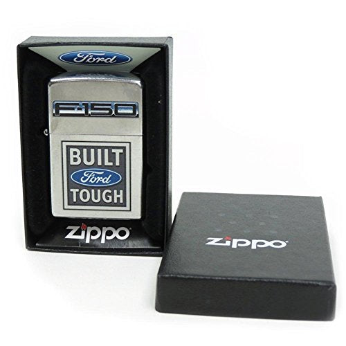 Zippo Lighter Ford F150 `Built Ford Tough`