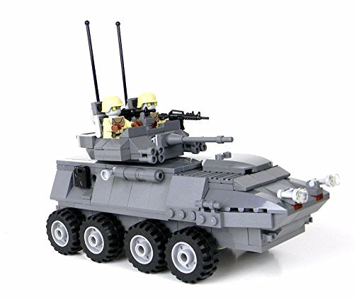 Marine Lav-25 Set Made W/ Real Lego Bricks - Battle Brick Custom Set