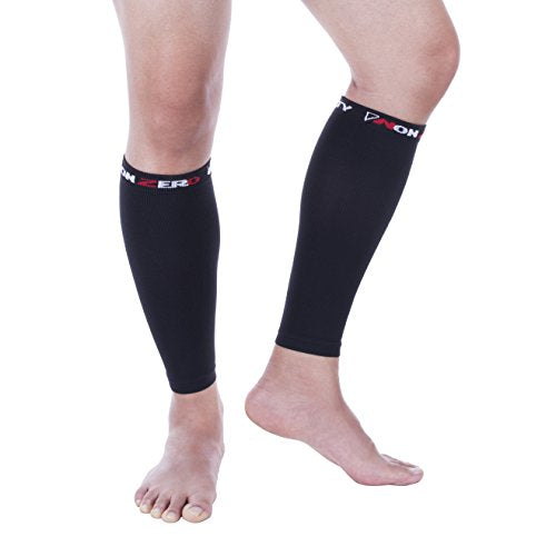 Nonzero Gravity Calf Sleeves | Compression Wraps For Running And Cycling | Shin Splints And Cramps (Pair) (Medium)