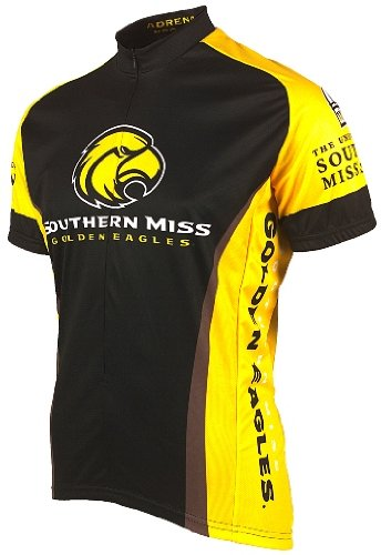 Ncaa Adult Southern Mississippi Golden Eagles Cycling Jersey (Small)