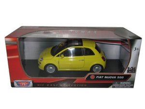 Fiat 500 Nuova Yellow 1/24 By Motormax 73373