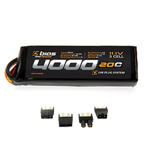 Traxxas Aton / Aton Plus Rc Drone Quadcopter 20C 3S 4000Mah 11.1V Lipo Battery By Bias