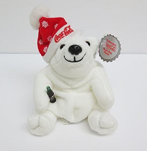 Coca-Cola Exclusive Polar Bear With Bottle And Snowflake Hat #0104