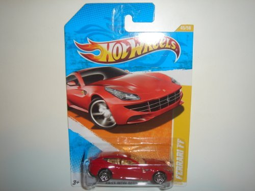 2011 Hot Wheels New Models Ferrari Ff Red #45/244