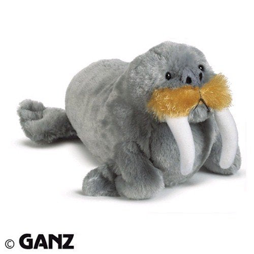 Webkinz Walrus With Trading Cards
