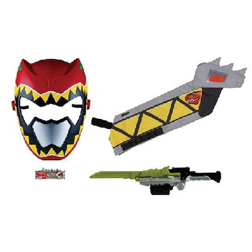Power Rangers Dino Supercharge Red Ranger Deluxe Training Set