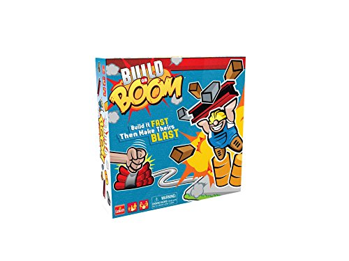 Goliath Build Or Boom Games 77100 Gol Board Game Fun For The Whole Family, Fun Stem Game
