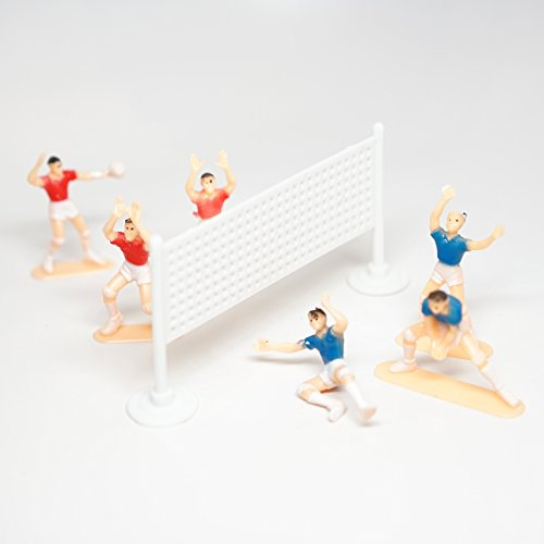 Volleyball Team Cake Topper (6 Players)