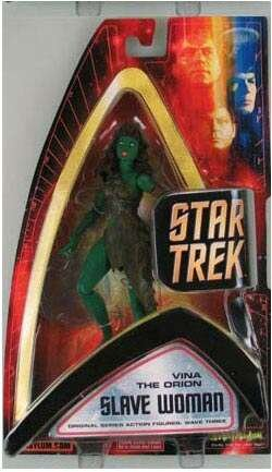 Star Trek 2004 Wave 3 Vina The Orion Slave Woman