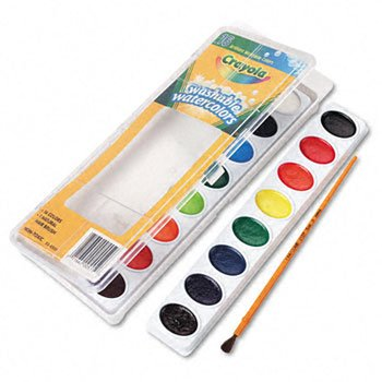 Crayola Washable Watercolor Paint Watercolors,16Ct,Ast (Pack Of20)