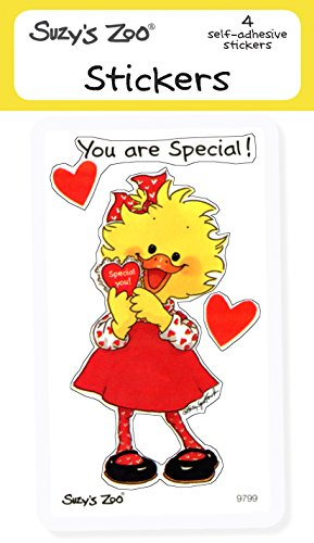 Suzy'S Zoo Stickers 4-Pack,  You Are Special!  10133