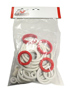 Game Room Guys Gottlieb Time Line White Rubber Ring Kit