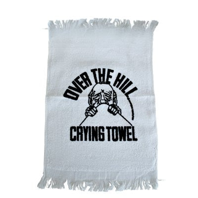 Over The Hill Old Man Crying Towel