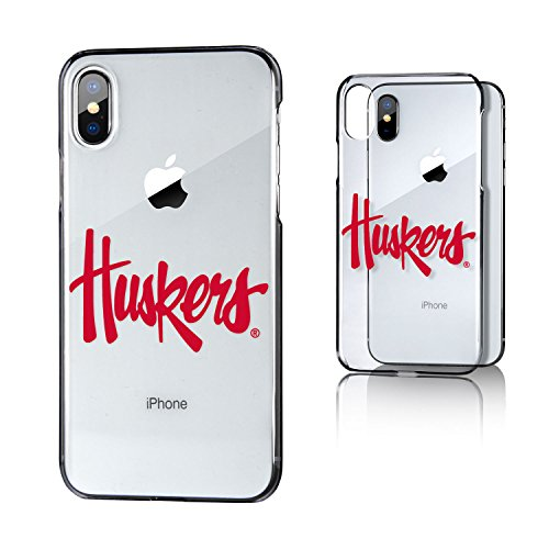 Keyscaper Kclrix-00Nb-Insgn1 Nebraska Huskers Iphone X/Xs Clear Case With Nu Insignia Design