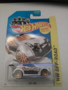 Hot Wheels Hw Off-Road Fast 4Wd 110/250 White