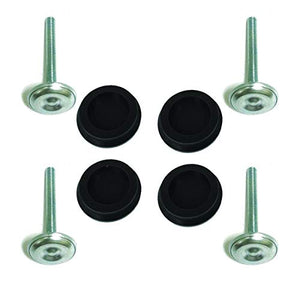 Game Room Guys 3  Leg Levelers And 4 Black Perfectplay Silicone Caps Pads