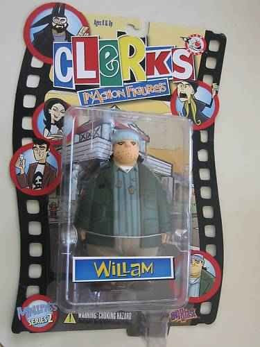 Clerks William Inaction Figure