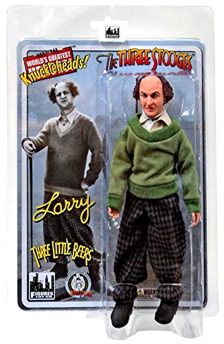 The Three Stooges Three Little Beers Larry 8 Action Figure