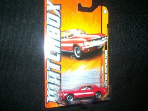 Matchbox Mbx Old Town 1968 Ford Mustang Gt/Cs 1/10