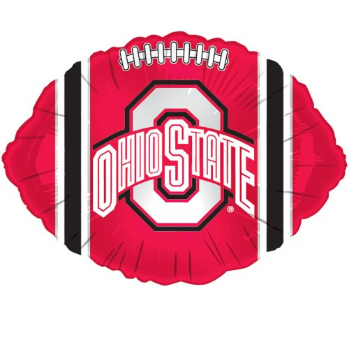 Ohio State Buckeyes - Foil Football Balloon Party Accessory