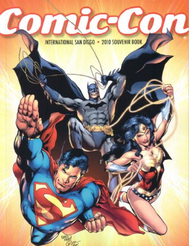 Batman Superman Wonder Woman 2010 San Diego Comic-Con Souvenir Book Program