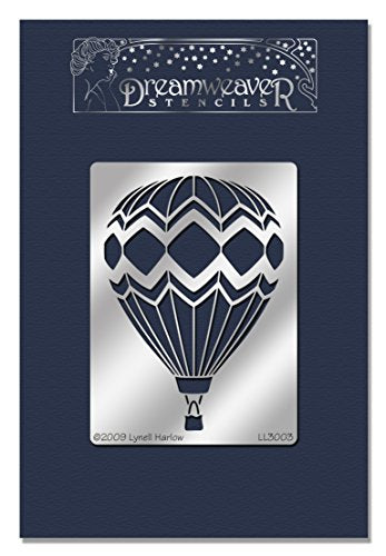 Stampendous Dreamweaver Stencil, Hot Air Balloon