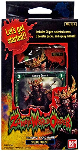 Zombie World Order Special Booster Pack Set