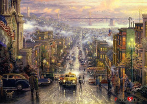 [Puzzlelife] 1000 Piece Jigsaw Puzzles San Francisco