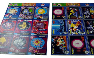 Uncut Sheet Of 9 Classic 1999 Pokemon Burger King Promo Cards (One Random Sheet)