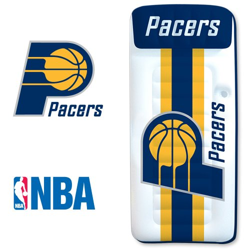 Poolmaster Indiana Pacers Nba Swimming Pool Float, Giant Mattress