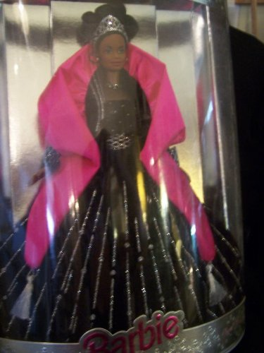 Stunning Happy Holidays Barbie 1998 Christmas. Special Edition. African American
