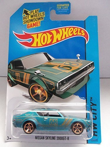 2014 Hot Wheels Hw City 23/250 - Nissan Skyline 2000Gt-R [Ships In A Box!]
