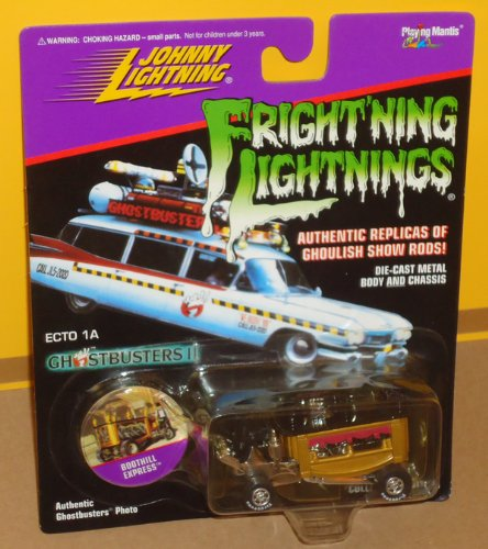 Frightning Lightnings Johnny Lightning Boothill Express Gold Bronze Brown (Ghostbusters Ii Photo On Card)