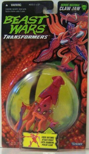 Beast Wars Heroic Maximal Claw Jaw