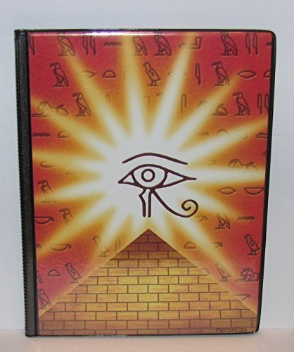 Hieroglyphic Collectable Trading Card Game Binder Album Holder
