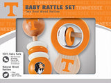Masterpieces Ncaa Tennessee Real Wood Baby Rattles