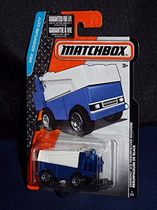 Mattel 2016 Matchbox Mbx Adventure City - Zamboni Ice Resurfacing Machine