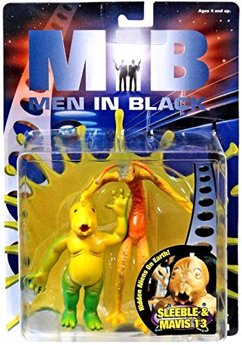 Men In Black Movie Sleeble & Mavis 13 Figures