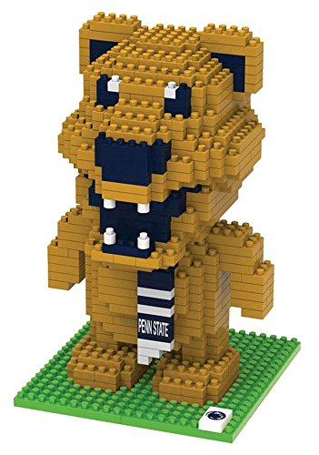 Foco Ncaa Penn State Nittany Lions 3D Brxlz Mascot Building Blocks Set3D Brxlz Mascot Building Blocks Set, Team Color, One Size