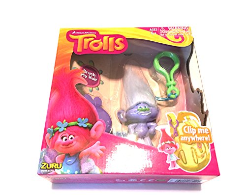 Dreamworks Trolls Keychain Playset (Guy Diamond)